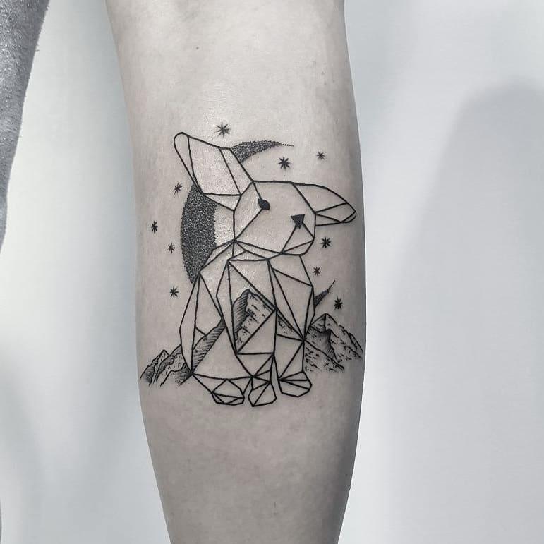 Geometrische Formen Tattoo 1001 Ideen Und Bilder Zum