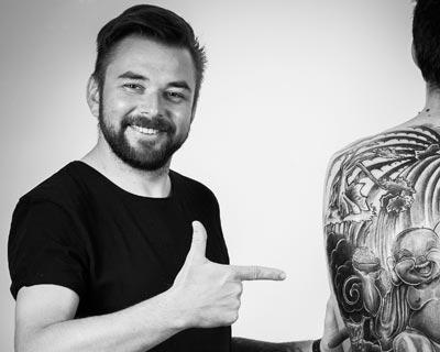 Csaba Koszegi tattooist
